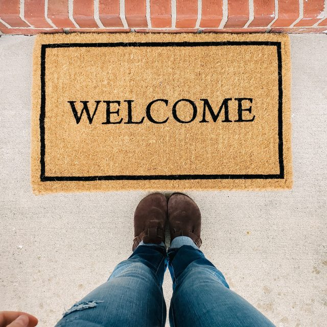 entrance welcome